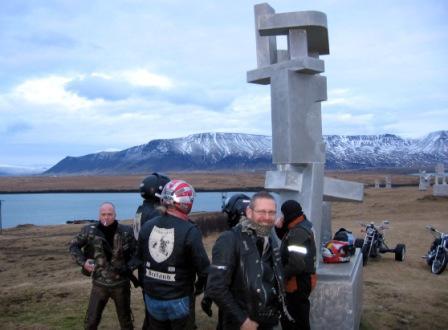 Myndir þessar eru eign Óskabarna Óðins MC Last run 2008