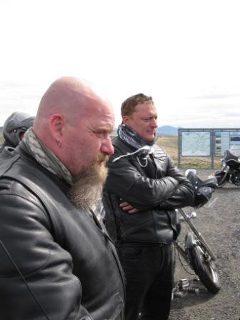 Myndir þessar eru eign Óskabarna Óðins MC Hringferð 2010